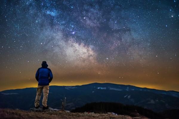 Die Milchstraße und ich