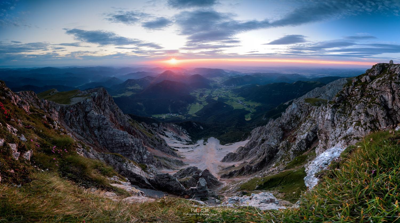 Sonnenaufgang Schneeberg 2018