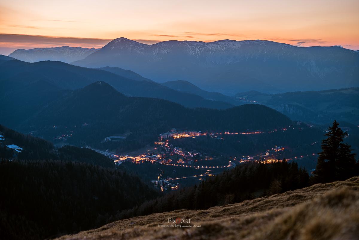 Sonnenuntergang-semmeringwp