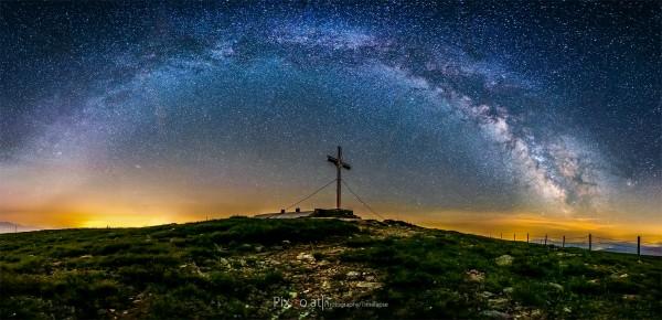 Milchstraßenpanorama Stuhleck