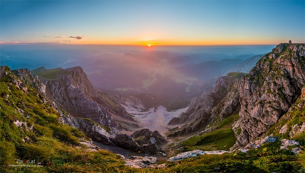 Sonnenaufgang am Schneeberg