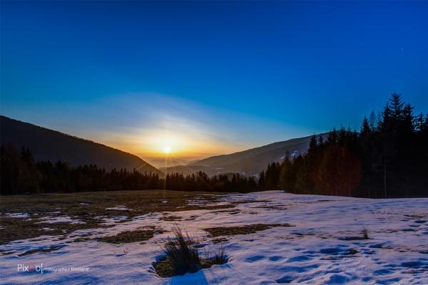 Sonnenaufgang Trattenbach