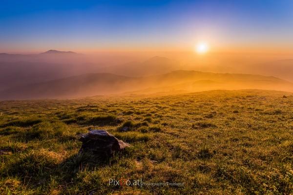 Sonnenaufgang am Stuhleck