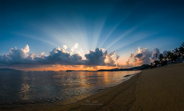 Sonnenaufgang Kho Samui, Thailand