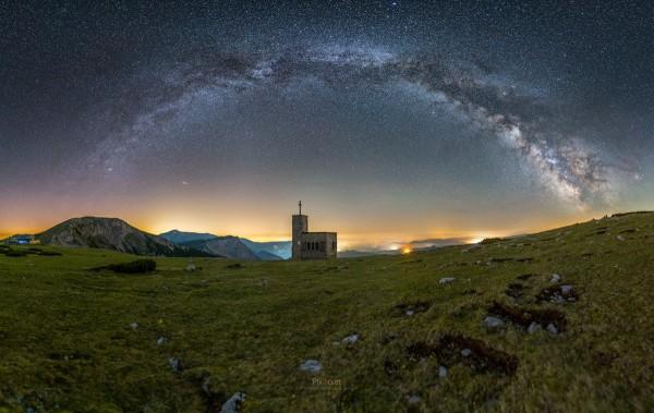 Milchstraßenpanorama auf der Rax #3