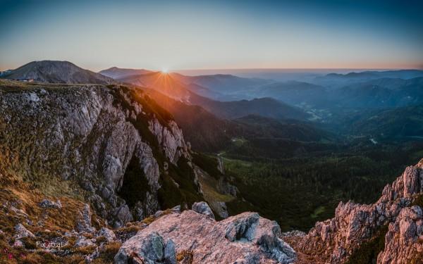Sonnenaufgang auf der Rax